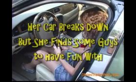 Slutty teen wants down her throat and big cock inside her