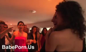 Babes in party orgy